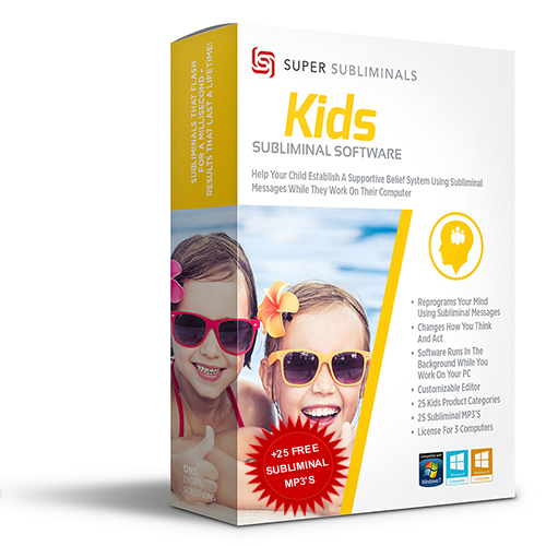 Kids Subliminal Software | Change Beliefs / Change Their Reality