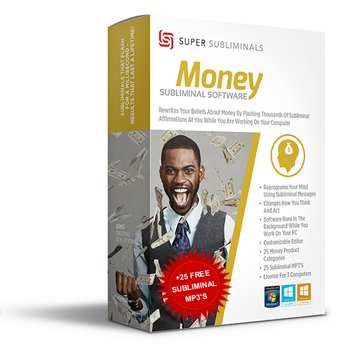 Money Subliminal Software +Free 25 MP3's | Change Lack Thoughts
