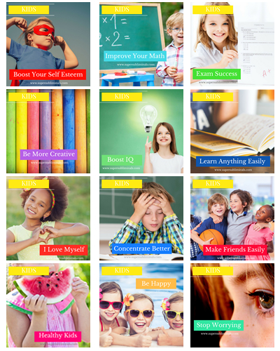 25 Kids Subliminal MP3's
